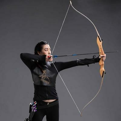 New 36LBS@68'' Archery Take down Recurve Bow Hunting Traditional Takedown Target
