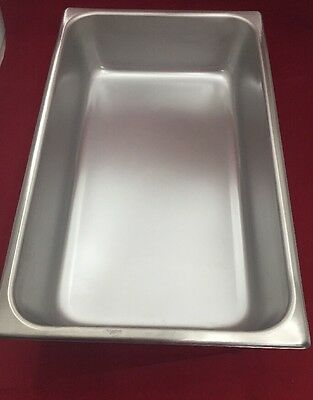 """VOLLRATH Stainless Steel Instrument Tray 2004-2 Type II Size 5 21x13x4.25"""""""