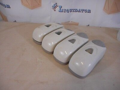 Set Of Four Wall Mount Soap Dispensers