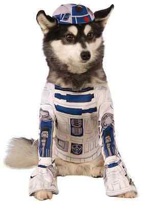 R2-D2 Droid Star Wars Classic Robot Fancy Dress Up Halloween Pet Dog Cat Costume
