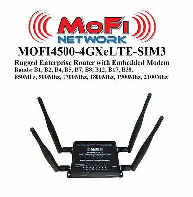 MoFi 4500 Broadband Router- Wireless WiFi - MOFI4500-4GXeLTE-SIM3