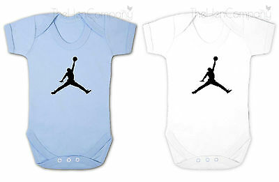 Basketball Babygrow Michael Jordan Bodysuit Baby Boys Clothes RetroThe Bulls