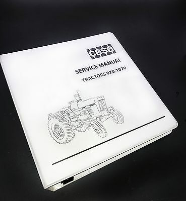 Case 970, 1070 Tractor Repair Service Manual