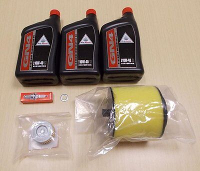 1988-2000 Honda TRX 300 TRX300 ATV OE Complete Oil Change Service Tune-Up KIT