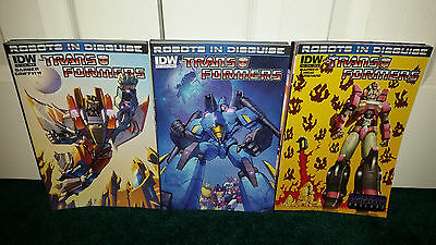 Transformers Robots in Disguise #3 IDW Comics CB6787