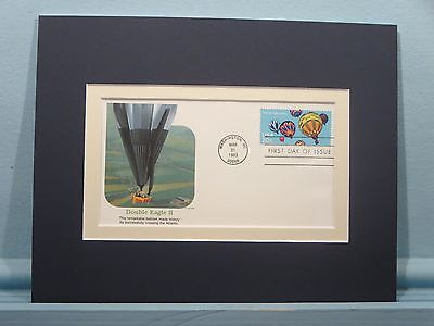 The Double Eagle II Balloon & the First Day Cover honoring Balloon Flight