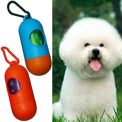 Wow Pet Dog Dogs Bone Shape Dispenser Box Clean-up Waste Bag Carrier Holder Case