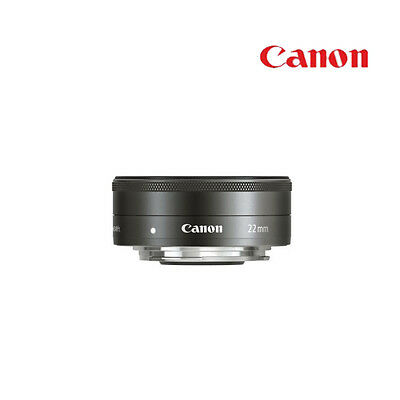 Genuine Canon EF-M 22mm F2 STM Pancake Silver Lens(NEW) Without Box For EOS-M,M5
