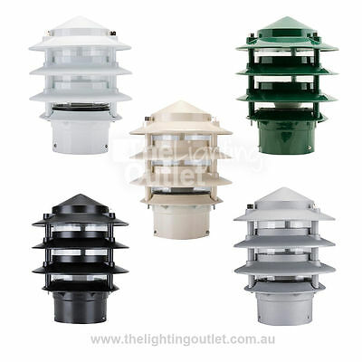 1 x E27 BL-100 Three Tier Bollard Head Domus Lighting 10701