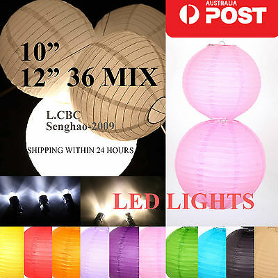 "Bulk 36 x(10' 12"") Chinese Paper Lanterns Home Birthday Party Wedding Decoration"