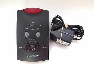 Plantronics S10 Headset Amplifier with AC Adapter UD-0903B