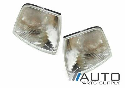 Ford EA EB ED Falcon LH + RH Clear Corner Indicators Lights 1988-1994 *New*