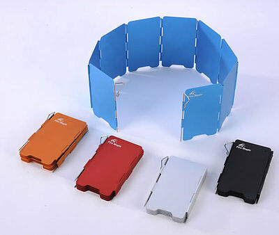 Free Shipping Wind-Screen Camping Stove Wind Screen FMW-503  Black or Silver