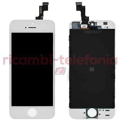 vetro touchscreen Apple A1533 A1457 iPhone 5s bianco touch display schermo LCD