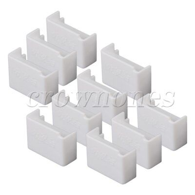 10 Pieces White 1:50 O Scale Model Building Material Store Cash Register Counter