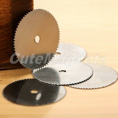 40Pcs Steel Wood Cutting Saw Blade Wheel 22mm Disc for Drills Power Rotary Tool