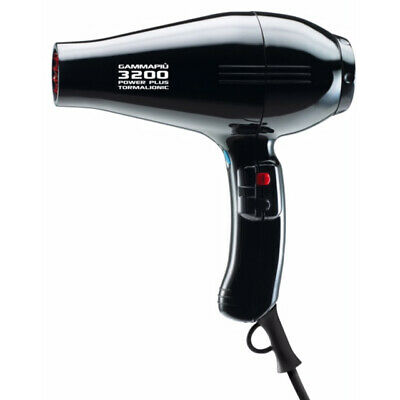 Gamma Piu 3200 Hair Dryer - Black