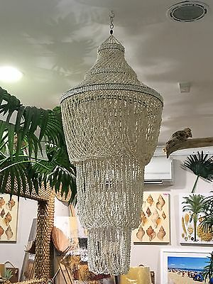 Very Large Shell Chandelier drops 150mm