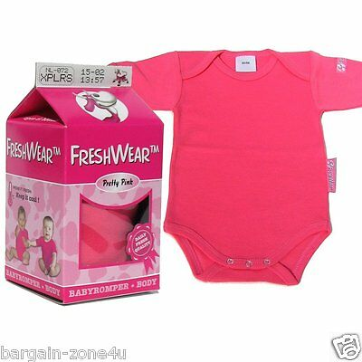 Freshwear Newborn Baby Pink Girls Romper Underwear Vest Clothes gift party