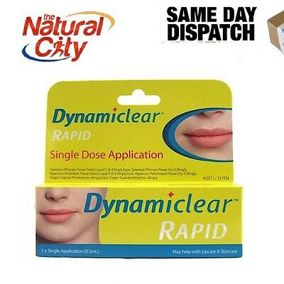 DYNAMICLEAR RAPID Cold Sore Relief Single pack x 1