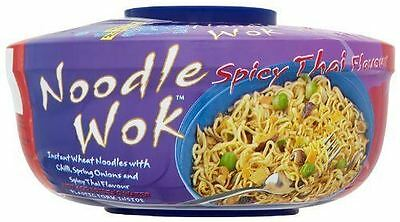Blue Dragon Spicy Thai Noodle Wok 67g (Pack of 6)