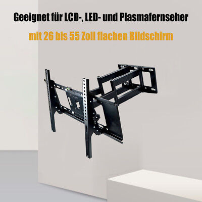 starre tv wandhalterung flach starr fernseher wandhalter lcd 26 55 zoll led tv eur 4 60. Black Bedroom Furniture Sets. Home Design Ideas