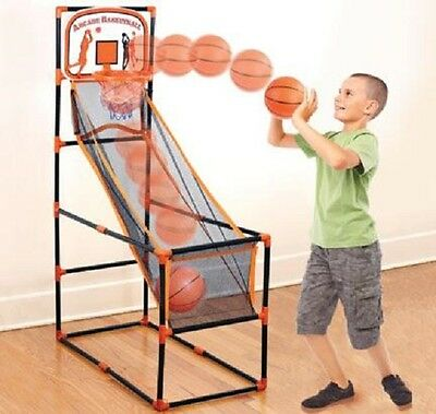 "ARCADE BASKETBALL Indoors & Outdoors. 55"" High! Hours of Fun! EXPEDITE SHIPPING!"