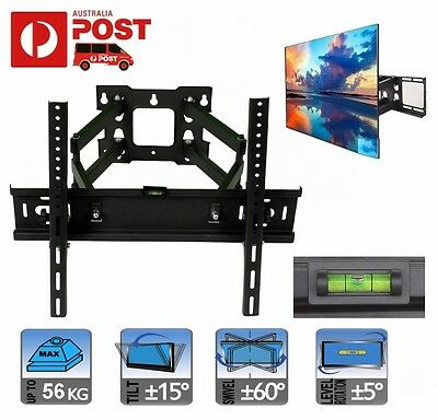 "TV Bracket Wall Mount 42"" - 55"" Inch Full Motion Swivel LCD LED for JVC LG HDTV"