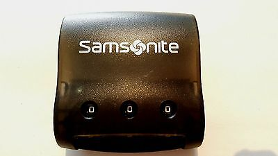 Replacement Luggage Center Combination Lock For Samsonite FLITE