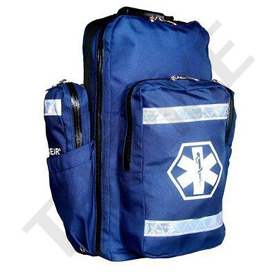 Dixie Ems Ultimate Pro Trauma O2 First Responder Medic Oxygen Backpack Denier