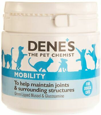 Denes Green Lipped Mussel Extract with Glucosamine + Powder 50g Dog Cat Joints