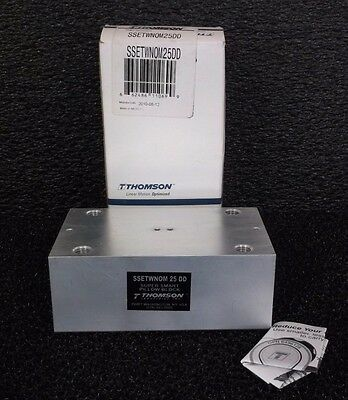 NEW THOMSON SSETWNOM25DD Pillow Block 25 mm Bore 130 mm L 2LER2 (B39S)