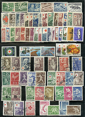Weeda Finland 1922-1974 period collection of mint & used semi-postals CV $133+