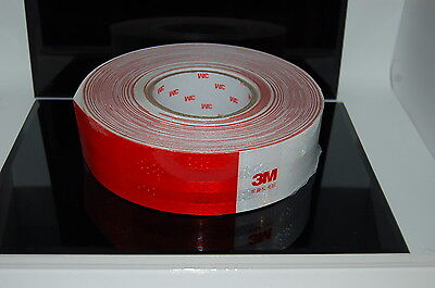 3M Reflective Adhesive tape 983D,Conspicuity Tape hgv,truck trailer,5cm wide