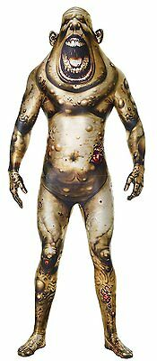 Halloween LifeSize ALIEN WARRIOR MORPH BOIL MONSTER ADULT MEN Large Costume