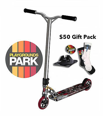 MGP VX6 EXTREME OUTLAW scooter + $50 Gift Pack, 2016 Madd Gear