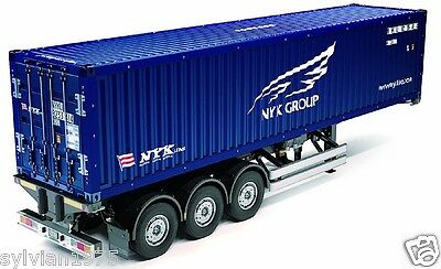 Tamiya # 56330 1:14 40ft Container Semi-Trailer - For RC Tractor Truck (NYK)
