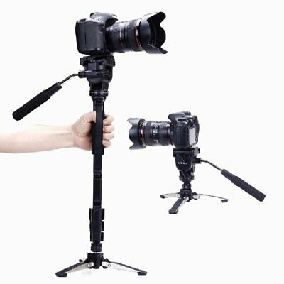 2016 Yunteng VCT-288 Monopod Tripod Stand with Fluid Pan Head Unipod Holder