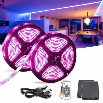 WOW - 5M 5050 Day White 300 LED Light Waterproof Strip Lighting 12V with Adapter