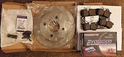 Rotor and Brake Pad Kit for Ford Focus