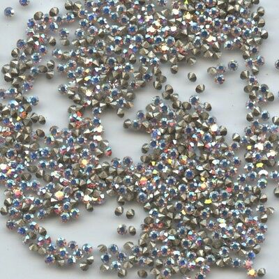 1028 PP5 CI *** 50 STRASS SWAROVSKI PP5 (1,25mm) CRYSTAL AB  - (MICROSCOPIQUES!)