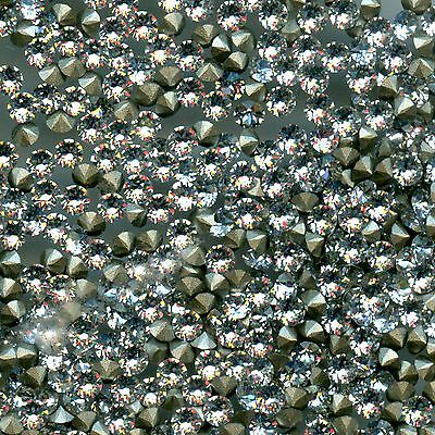 1028 PP7 C *** 50 STRASS SWAROVSKI FOND CONIQUE PP7 (1,38mm) CRYSTAL F