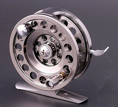 BLD60 Aluminum Alloy Super Strong Ice Fly Fishing Reel Brake-System wheel Tackle