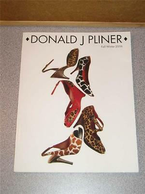 DONALD PLINER Fall-Winter 2006 Luxury Footwear Catalog