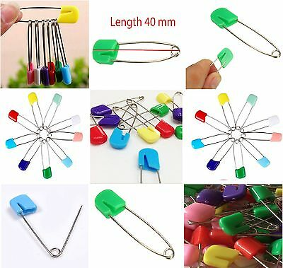 Baby Nappy Diaper Nappies Cloth Safety Pin Clip Craft Art Multiuse Mix Color New