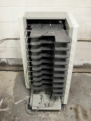 Horizon QC-P10 10 Bin Collator does up to 11x17 in size