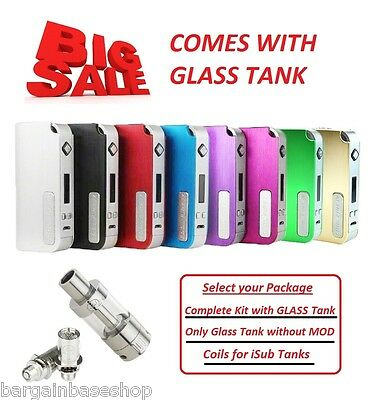 Cool Fire IV 40W CoolFire 4 with iSub G tank (100% Genuine) (cheapest on ebay)