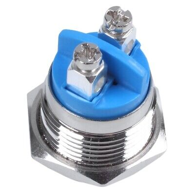 16mm High Round High Round Momentary Metal Push Button Switch DT