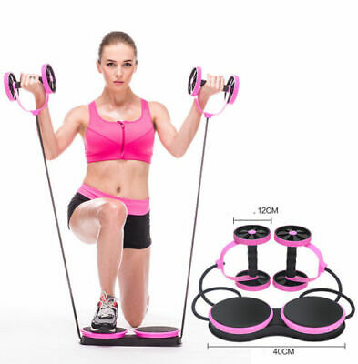 New Revoflex Total Body Fitness Gym Abdominal Resistance Exercise Abs Trainer