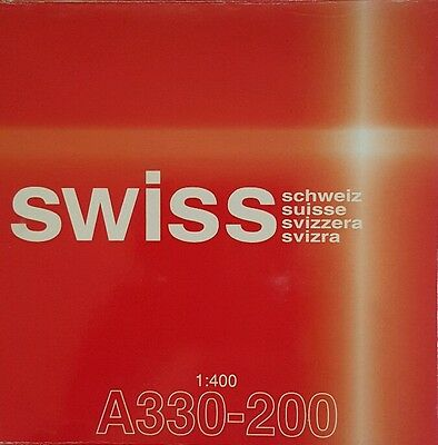 Dragon Wings Swiss Air A330-200 1:400